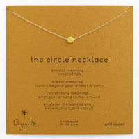 Dogeared 'Reminder - The Circle' Pendant Necklace