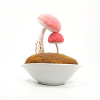 Nursery Home Decor Mother's Day Mushroom by FoxtailCreekStudio