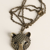 Hear Me Roar Necklace - $19.95 : Indie, Retro, Party, Vintage, Plus Size, Convertible, Cocktail Dresses in Canada