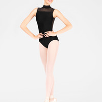 "Free Shipping - Adult ""Lys"" Swiss Dot Tank Leotard by WEAR MOI"
