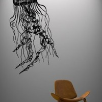 Vinyl Wall Decal Sticker Jelly Fish Deep Sea Jellyfish #364:Amazon:Everything Else