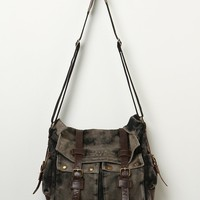 Free People Burns Washed Messenger