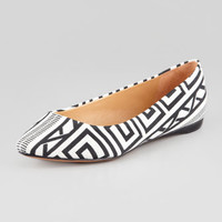 Grifyn Printed Canvas Flat