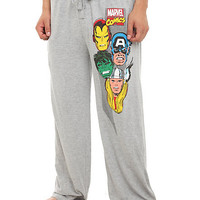 Marvel Universe Avengers Men's Pajama Pants | Hot Topic