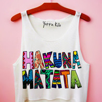 Hakuna Matata Drawing by S Tank Top