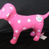 "Victoria's Secret Pink 7"" Plush Dog ""Vote for Pink"""