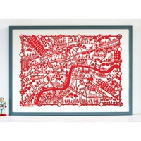 Famille Summerbelle London Print | Folly Home | Design-led Gifts, Home wares, Vintage Finds