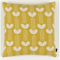 Garden Centre Cushion In Mustard | Folly Home | Design-led Gifts, Home wares, Vintage Finds
