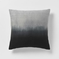 Dip-Dye Rainbow Silk Pillow Cover – Onyx