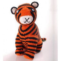 Crochet Bengal Tiger | Folly Home | Design-led Gifts, Home wares, Vintage Finds