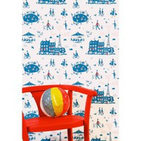 Famille Summerbelle Un Dimanche à Paris Wallpaper | Folly Home | Design-led Gifts, Home wares, Vintage Finds