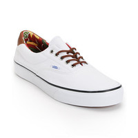 Vans Era 59 True White & Aloha Print Canvas Shoe at Zumiez : PDP