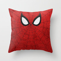 Spider-Man Throw Pillow by TheLinC