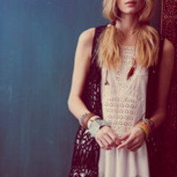 Free People Sleeveless Eyelet Tunic at Free People Clothing Boutique
