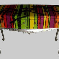 Jimmie Martin Ltd IMPERFECTION STRIPY SIDE TABLE