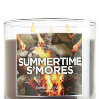 Summertime S'mores 14.5 oz. 3-Wick Candle   - Slatkin & Co. - Bath & Body Works