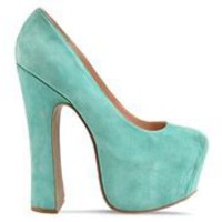 Dolce Vita Vixen in Mint Suede at Solestruck.com