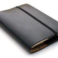 Pocket Moleskine Cover – Black Bridle Leather