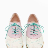 Bass X Rachel Antonoff Who's That Girl Oxford