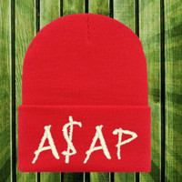 ASAP rocky winter beanie