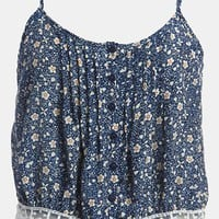Lucca Couture Floral Crop Top | Nordstrom