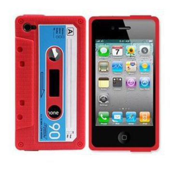 Amazon.com: Classic Cassette Silicone Case Skin for Iphone 4 4th 4g: Cell Phones & Accessories