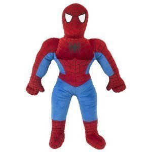 "25"" Spiderman Plush Pillowtime Pal Stuffed Toy Pillow"