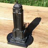 1930s Empire State Building replica lighter, scarce.