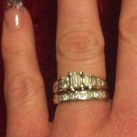 Have You Seen the Ring?: 0.50ct Engagement Ring With Wedding Band
