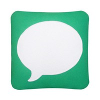 Messages Icon Pillow by Craftsquatch on Etsy