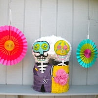 Day of the Dead Couple Piñata