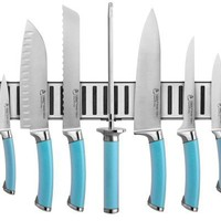 Ginsu Shoku Stainless Steel Cultlery Set with Frost Colored Handle