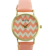 Daytrip Chevron Dial Watch - Women's Watches | Buckle