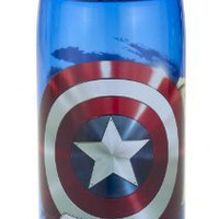 Zak!  Captain America 25-Ounce Triton Sport Bottle