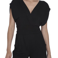 Knit Surplice Tie Romper | Shop Jumpsuits & Rompers at Arden B