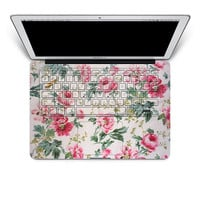 keyboard decal macbook pro decals keyboard decal cover skin flower keyboard decal laptop macbook decals sticker mac decals Apple Mac Decal