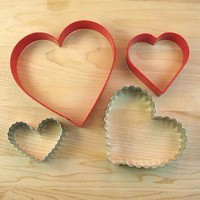 Wilton From the Heart 4-pc Cutter set