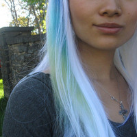 Seafoam Wig Mermaid of the Sea Human by UndergroundAquarium