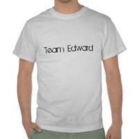 Team Edward T-Shirt from Zazzle.com