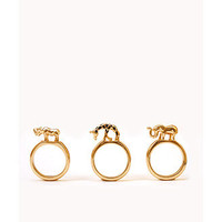 Jungle Ring Set | FOREVER 21 - 1062777524