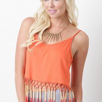 Summer Gypsy Crop Top