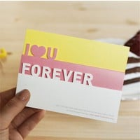 I Love You Forever Card