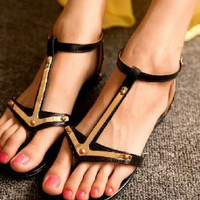 Anchor Thong Sandals for Women