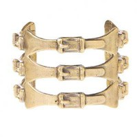 Alkemie + 3 Buckle Cuff - Cuffs - eCo Jewelry - Women's