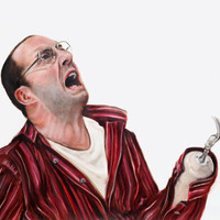 Arrested Development Buster Bluth Portrait Print