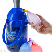 Tie-Not Battle Pump by Kaos: Portable Water Balloon Filling Station