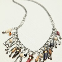 Free People Horn Charm Collar