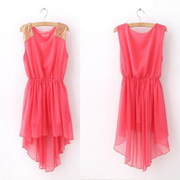 Best Womens Sleeveless Chiffon Dress for Summer