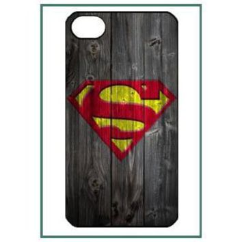 Superman iPhone Black Case Cover Protector Bumper