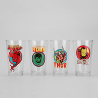 Marvel Pint - Set Of 4